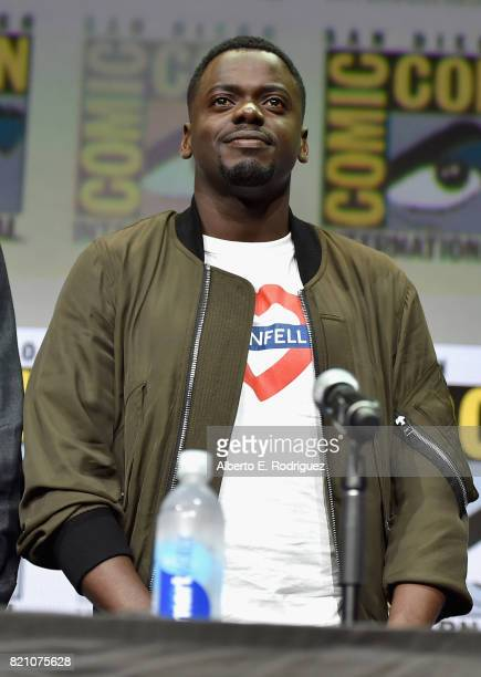 Actor Daniel Kaluuya from Marvel Studios' 'Black Panther' at the San Diego ComicCon International 2017 Marvel Studios Panel in Hall H on July 22 2017...