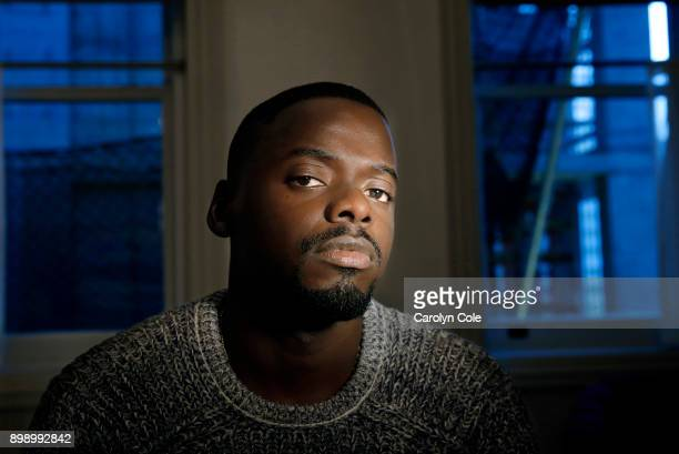Actor Daniel Kaluuya is photographed for Los Angeles Times on November 27 2017 in Los Angeles California PUBLISHED IMAGECREDIT MUST READ Carolyn...