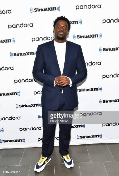 Actor Daniel Kaluuya visits SiriusXM Studios on November 12 2019 in New York City