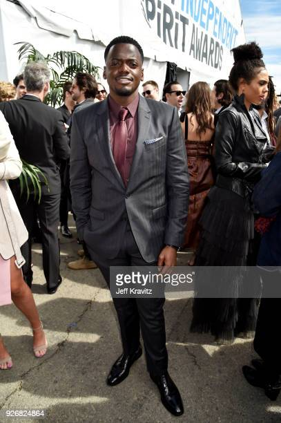 Actor Daniel Kaluuya with FIJI Water during the 33rd Annual Film Independent Spirit Awards on March 3 2018 in Santa Monica California