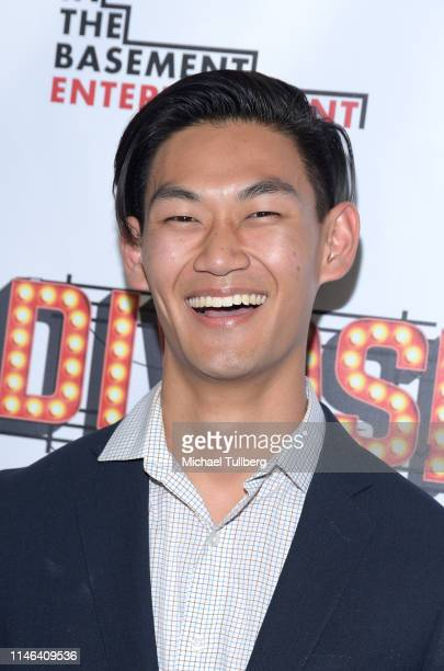Actor Daniel Kim attends a Los Angeles VIP industry screening with the filmmakers and cast of DIVOS at TCL Chinese 6 Theatres on May 01 2019 in...