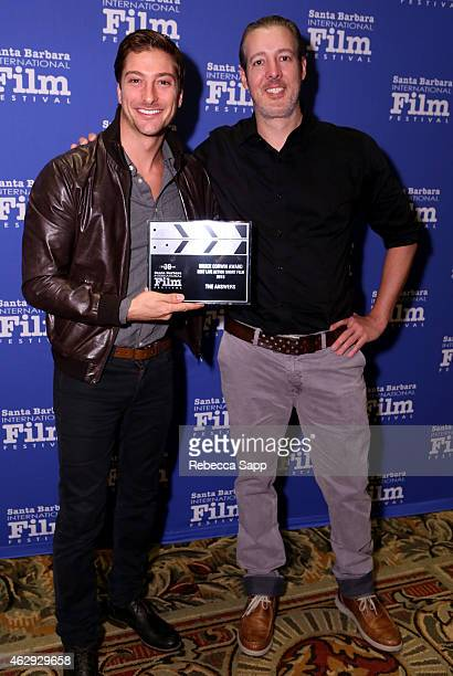 Actor Daniel Lissing and director Michael Goode of 'The Answers' attend the 30th Santa Barbara International Film Festival Awards Breakfast at the...