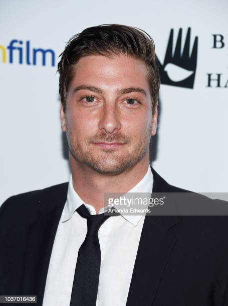 Actor Daniel Lissing arrives at The 9th Annual Australians In Film Heath Ledger Scholarship Dinner at Chateau Marmont on September 20 2018 in Los...