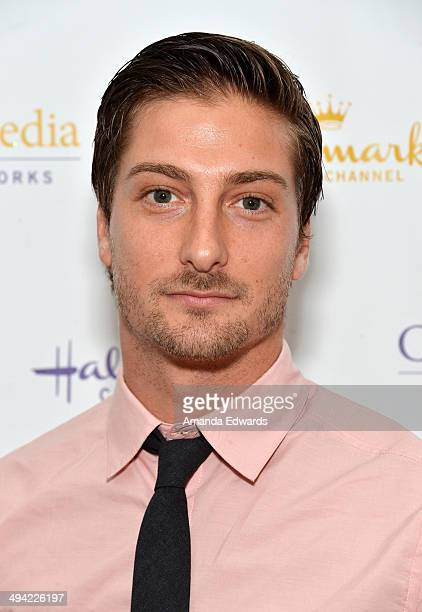 Actor Daniel Lissing arrives at The Color Of Rain premiere screening presented by the Hallmark Movie Channel at The Paley Center for Media on May 28...