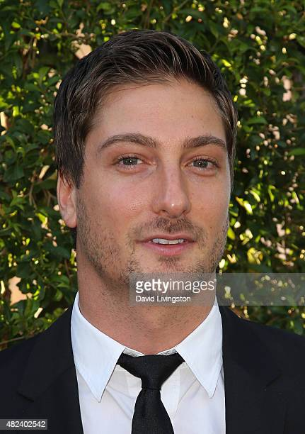 Actor Daniel Lissing attends Hallmark Channel and Hallmark Movies and Mysteries at the 2015 Summer TCA Tour at a private residence on July 29, 2015...