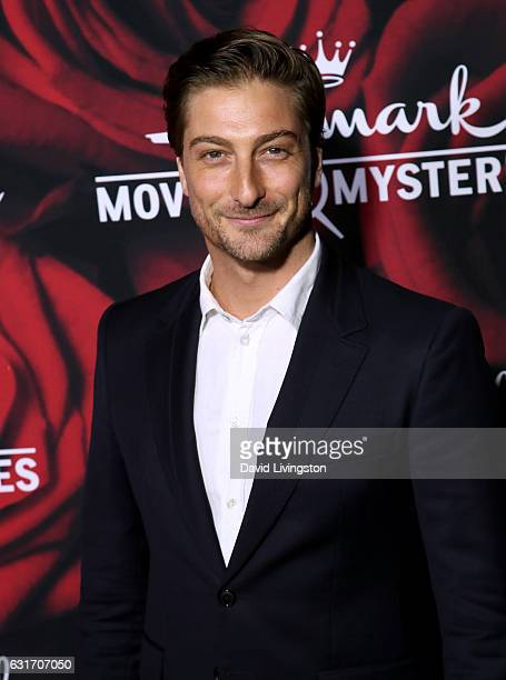 Actor Daniel Lissing attends Hallmark Channel and Hallmark Movies and Mysteries Winter 2017 TCA Press Tour at The Tournament House on January 14 2017...