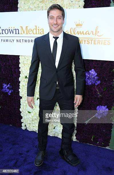 Actor Daniel Lissing attends the 2015 Summer TCA Tour - Hallmark Channel and Hallmark Movies And Mysteries on July 29, 2015 in Beverly Hills,...