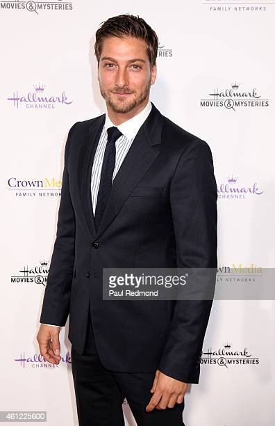 Actor Daniel Lissing attends the 2015 Television Critics Association Press Tour Hallmark Channel and Hallmark Movies Mysteries at Tournament House on...