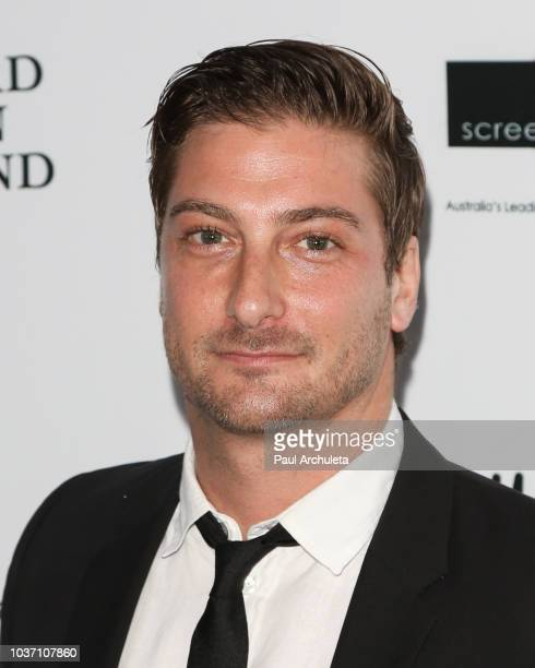 Actor Daniel Lissing attends the 9th Annual Australians In Film Heath Ledger Scholarship Dinner at Chateau Marmont on September 20 2018 in Los...