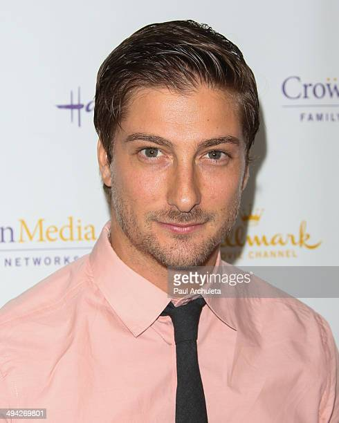 Actor Daniel Lissing attends The Color Of Rain screening at The Paley Center for Media on May 28 2014 in Beverly Hills California