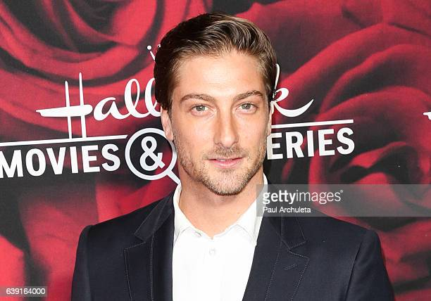Actor Daniel Lissing attends the Hallmark Channel and Hallmark Movies and Mysteries Winter 2017 TCA Press Tour at The Tournament House on January 14,...
