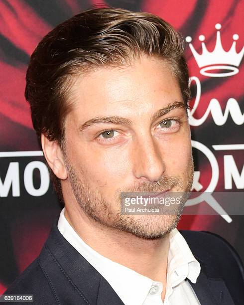 Actor Daniel Lissing attends the Hallmark Channel and Hallmark Movies and Mysteries Winter 2017 TCA Press Tour at The Tournament House on January 14...