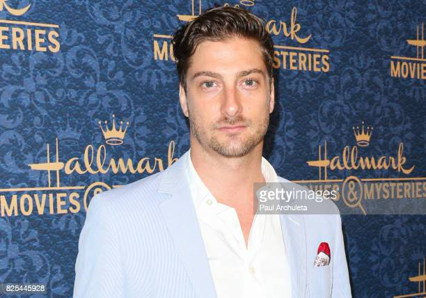 Actor Daniel Lissing attends the premiere of Hallmark Movies Mysteries' Garage Sale Mystery at The Paley Center for Media on August 1 2017 in Beverly...