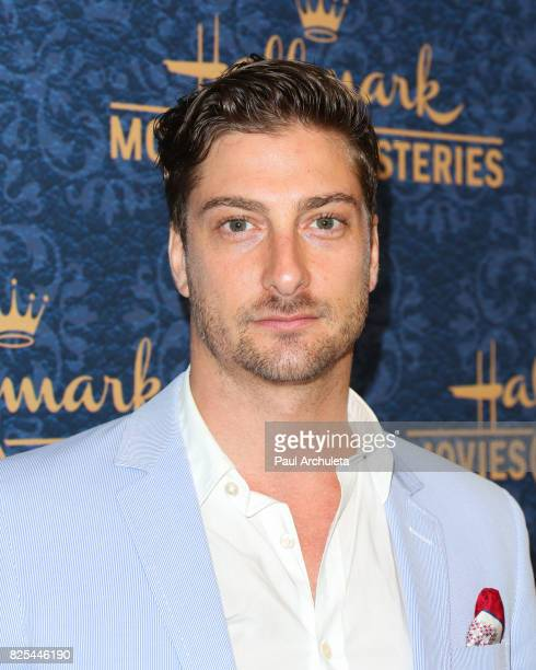 """Actor Daniel Lissing attends the premiere of Hallmark Movies & Mysteries' """"Garage Sale Mystery"""" at The Paley Center for Media on August 1, 2017 in..."""