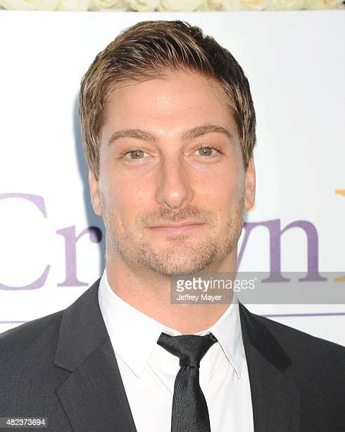 Actor Daniel Lissing attends the Summer TCA Tour Hallmark Channel and Hallmark Movies And Mysteries at a private residence on July 29 2015 in Beverly...