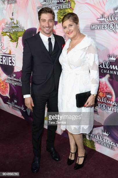 Actor Daniel Lissing attends ttends Hallmark Channel and Hallmark Movies and Mysteries Winter 2018 TCA Press Tour at Tournament House on January 13,...