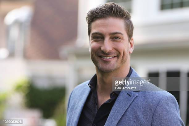 Actor Daniel Lissing visits Hallmark's Home Family at Universal Studios Hollywood on November 7 2018 in Universal City California