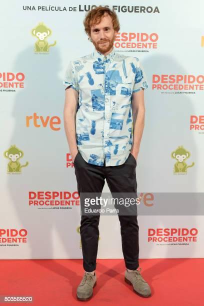Actor Daniel Perez Prada attends the 'Despido procedente' photocall at Callao cinema on June 29 2017 in Madrid Spain