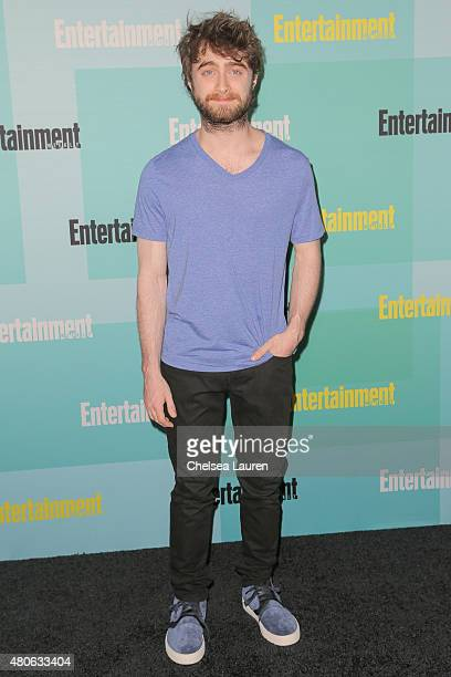 Actor Daniel Radcliffe arrives at the Entertainment Weekly celebration at Float at Hard Rock Hotel San Diego on July 11 2015 in San Diego California