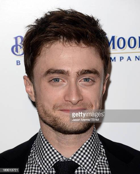 Actor Daniel Radcliffe arrives at the premiere of Sony Pictures Classics' Kill Your Darlings at Writers Guild Theater on October 3 2013 in Beverly...