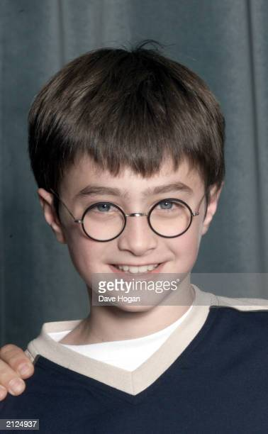 Actor Daniel Radcliffe attends a press conference for the movie Harry Potter and The Philosopher's Stone in London on August 23 2000 11 year old...