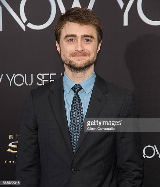 Actor Daniel Radcliffe attends 'Now You See Me 2' World Premiere at AMC Loews Lincoln Square 13 theater on June 6 2016 in New York City
