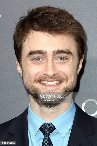 Actor Daniel Radcliffe attends Summit Entertainment presents the world premiere of Now You See Me 2 at AMC Loews Lincoln Square on June 6 2016 in New...