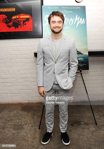Actor Daniel Radcliffe attends 'Swiss Army Man' New York Premiere at Metrograph on June 21 2016 in New York City