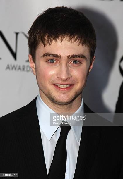 Actor Daniel Radcliffe attends the 62nd Annual Tony Awards on June 15 2008 at Radio City Music Hall in New York City