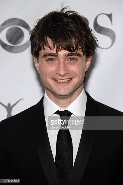 Actor Daniel Radcliffe attends the 64th Annual Tony Awards at Radio City Music Hall on June 13 2010 in New York City