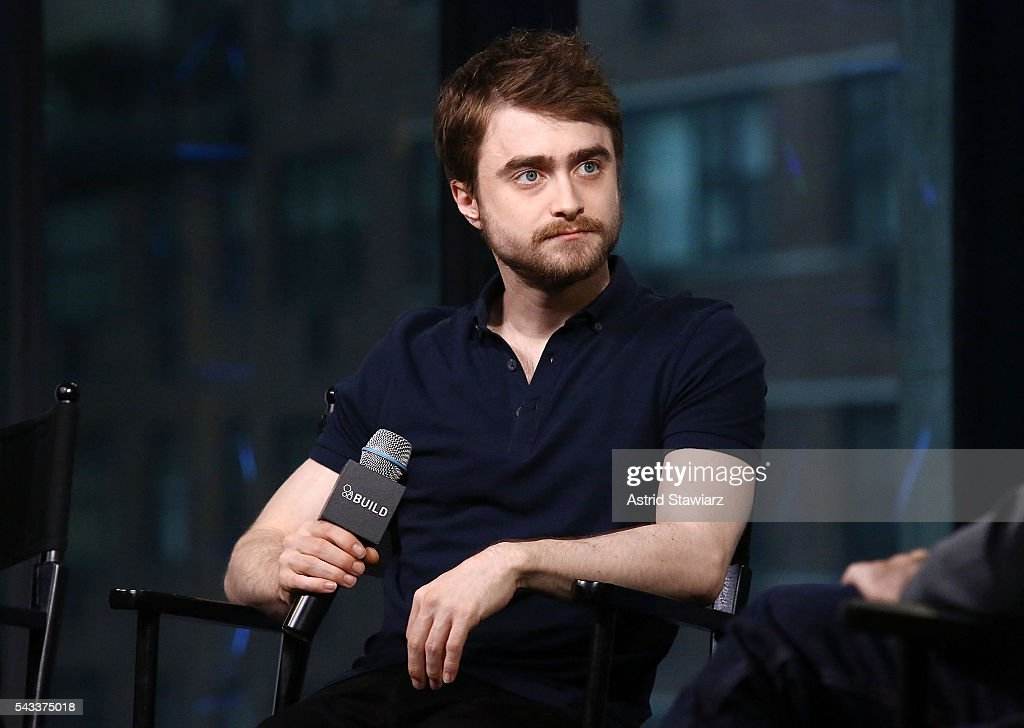 """AOL Build Presents - Paul Dano And Daniel Radcliffe From The Movie """"Swiss Army Man"""" : News Photo"""
