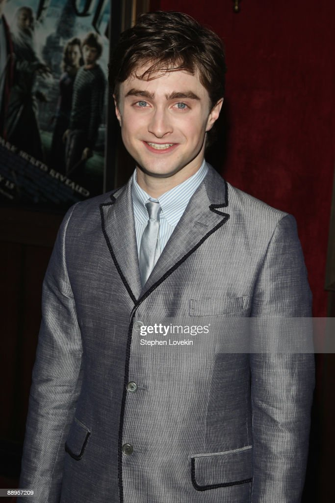 Actor Daniel Radcliffe attends the 'Harry Potter and the Half-Blood Prince' premiere at Ziegfeld Theatre on July 9, 2009 in New York City.