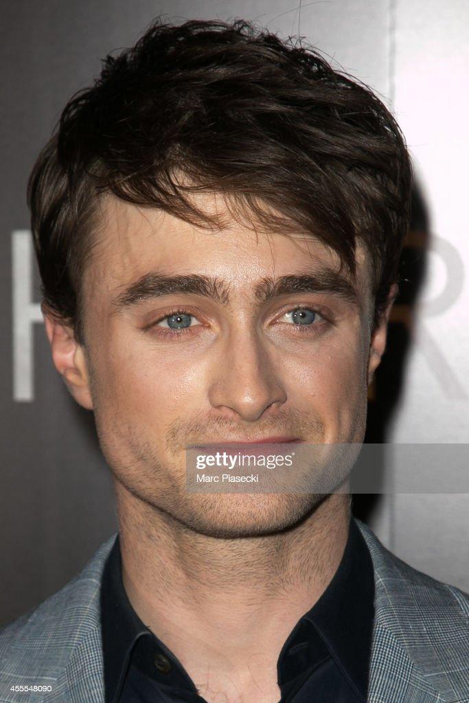 Actor Daniel Radcliffe attends the 'Horns' Premiere at Cinema Gaumont Marignan on September 16, 2014 in Paris, France.