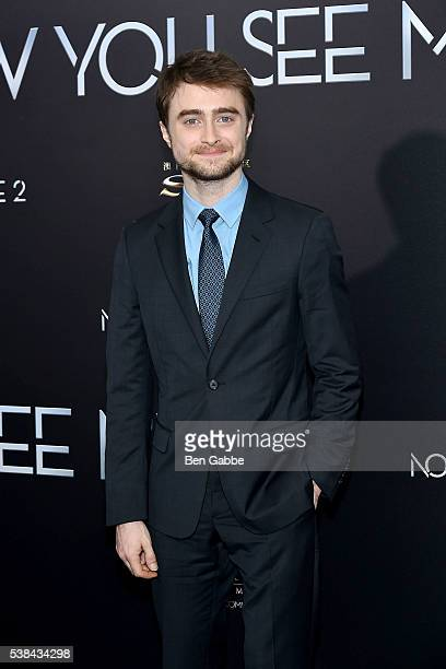 Actor Daniel Radcliffe attends the Now You See Me 2 World Premiere at AMC Loews Lincoln Square 13 theater on June 6 2016 in New York City