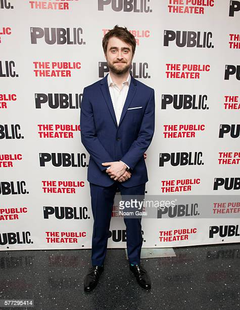 Actor Daniel Radcliffe attends the opening night of 'Privacy' at The Public Theater on July 18 2016 in New York City