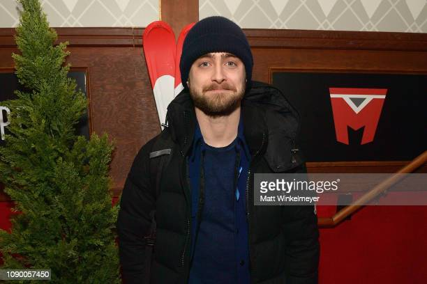 Actor Daniel Radcliffe attends the Pizza Hut Lounge during the 2019 Sundance Flim Festival in Park City UT