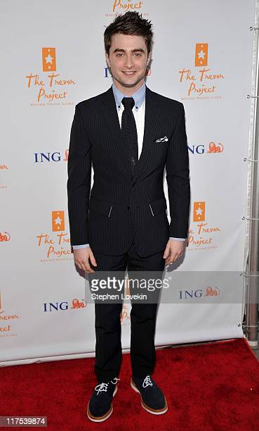 Actor Daniel Radcliffe attends Trevor Live An Evening Benefiting the Trevor Project at Capitale on June 27 2011 in New York City