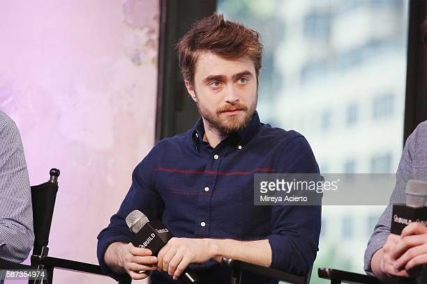 Actor Daniel Radcliffe discusses the new film Imperium at AOL HQ on August 8 2016 in New York City