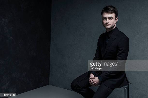 Actor Daniel Radcliffe is photographed at the Toronto Film Festival on September 6 2013 in Toronto Ontario