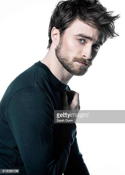 Actor Daniel Radcliffe is photographed for 20th Century Fox on February 27 2015 in London England
