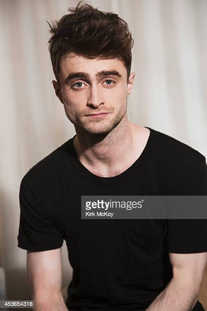 Actor Daniel Radcliffe is photographed for Los Angeles Times on July 28 2014 in West Hollywood California CREDIT MUST BE Kirk McKoy/Los Angeles...