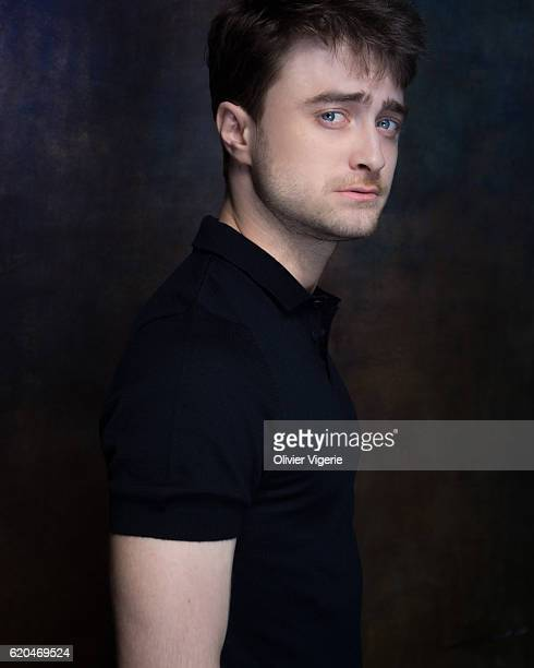 Actor Daniel Radcliffe is photographed for Self Assignment on September 3 2016 in Deauville France