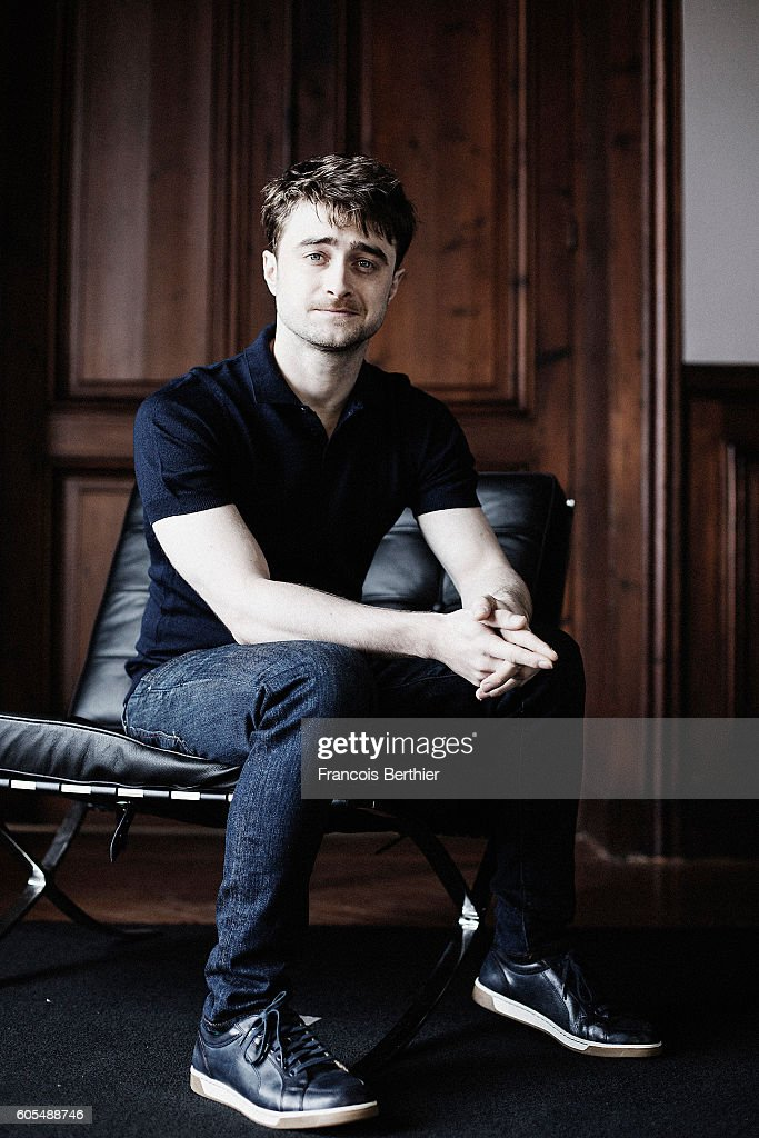 Actor Daniel Radcliffe is photographed for Self Assignment on September 6, 2016 in Deauville, France.