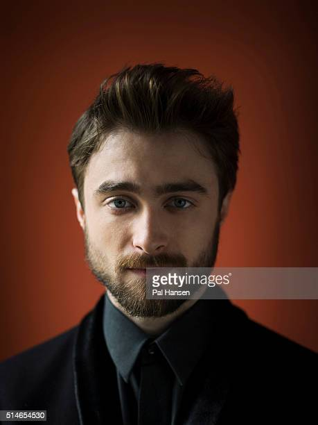 Actor Daniel Radcliffe is photographed for Total Film on April 1 2015 in London England