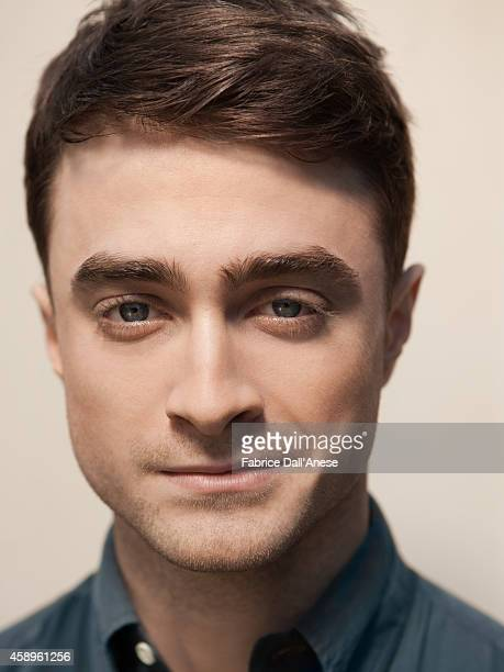 Actor Daniel Radcliffe is photographed for Vanity Fair Italy on September 1 2013 in Venice Italy