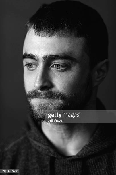 Actor Daniel Radcliffe of 'Swiss Army Man' poses for a portrait at the 2016 Sundance Film Festival on January 22 2016 in Park City Utah