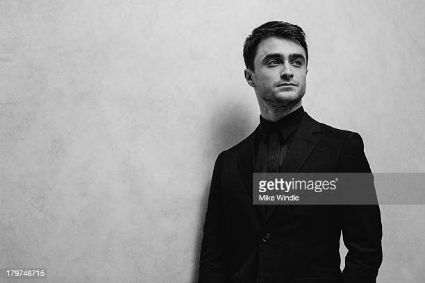 Actor Daniel Radcliffe poses for a portrait during the 2013 Toronto International Film Festival on September 6, 2013 in Toronto, Canada.
