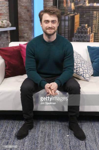 Actor Daniel Radcliffe visits People Now on December 06 2019 in New York United States