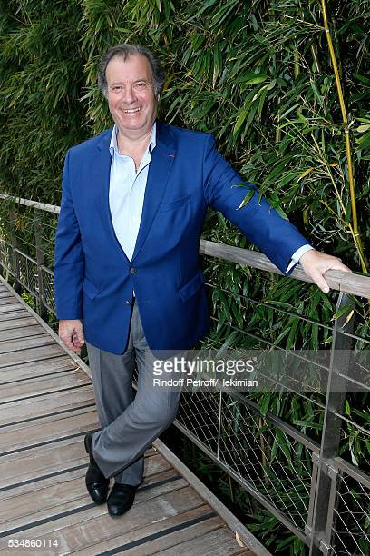 Actor Daniel Russo attends Day Seven of the 2016 French Tennis Open at Roland Garros on May 28 2016 in Paris France