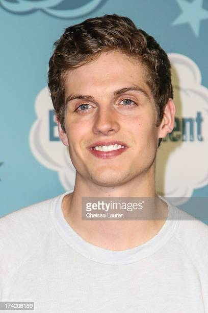 Actor Daniel Sharman arrives at Entertainment Weekly's annual ComicCon celebration at Float at Hard Rock Hotel San Diego on July 20 2013 in San Diego...